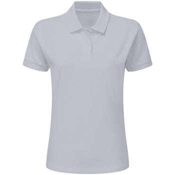 textil Pojkar Kortärmade pikétröjor Sg SG59K Ljus Oxford