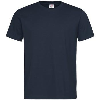 textil Herr T-shirts Stedman  Blå midnatt