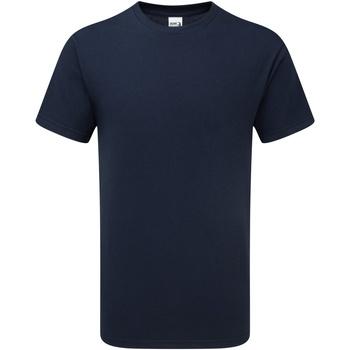 textil Herr T-shirts Gildan H000 Sport Mörk marinblå