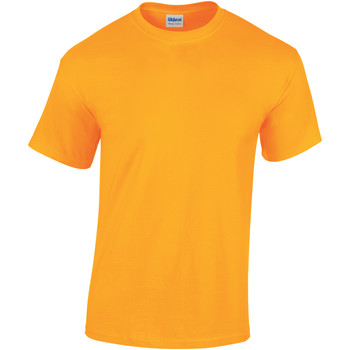 textil Barn T-shirts Gildan 5000B Guld