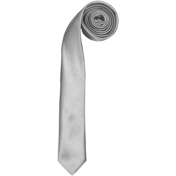 textil Herr Slipsar och accessoarer Premier  Silver