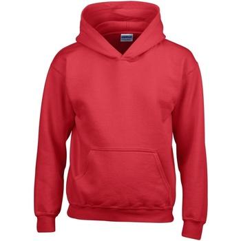 textil Barn Sweatshirts Gildan 18500B Röd