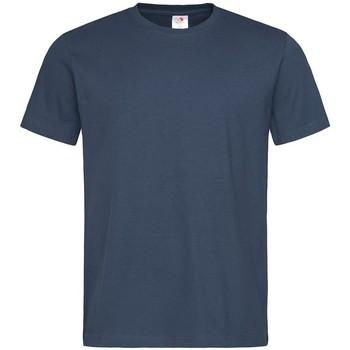 textil Herr T-shirts Stedman  Marinblått