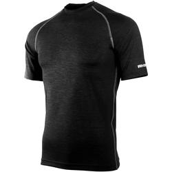 textil Herr T-shirts Rhino RH002 Svart ljung