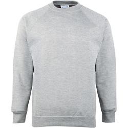 textil Barn Sweatshirts Maddins MD01B Grå Oxford