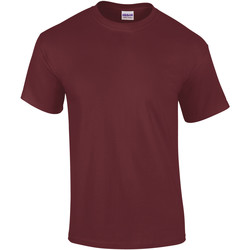 textil Herr T-shirts Gildan Ultra Maroon