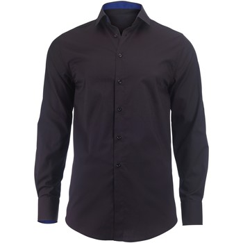 textil Herr Långärmade skjortor Alexandra Hospitality Svart/ Royal