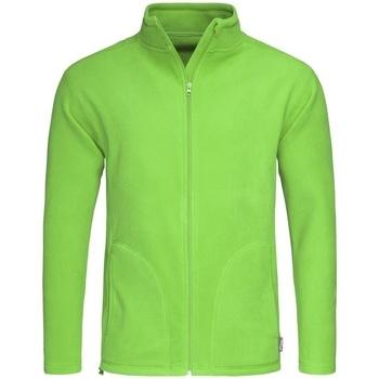 textil Herr Fleecetröja Stedman  Kiwi grönt