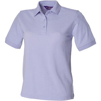 textil Dam Kortärmade pikétröjor Henbury HB401 Lavendel