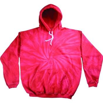 textil Herr Sweatshirts Colortone TD30M Spindel röd