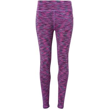 textil Dam Leggings Tridri TR031 Rosa rymdfärg