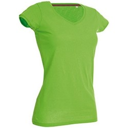 textil Dam T-shirts Stedman Stars Megan Grön blixt