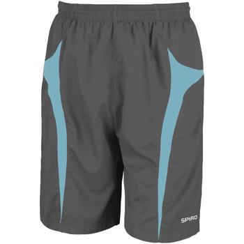textil Herr Shorts / Bermudas Spiro S184X Grå/Aqua