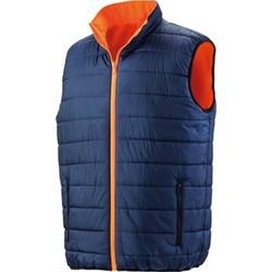 textil Herr Täckjackor Result R332X Fluorescerande orange/marinblått