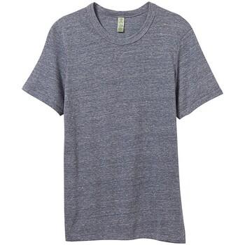 textil Herr T-shirts Alternative Apparel AT001 Ekologisk marinblått
