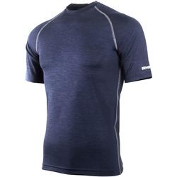 textil Herr T-shirts Rhino RH002 Marinblått ljung