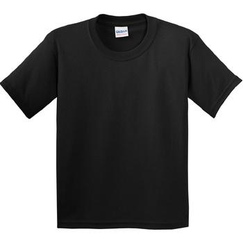 textil Barn T-shirts Gildan 5000B Svart