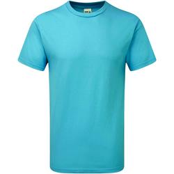 textil Herr T-shirts Gildan H000 Lagunblått
