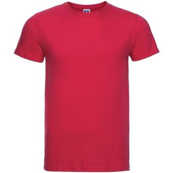 textil Herr T-shirts Russell R155M Klassiskt röd