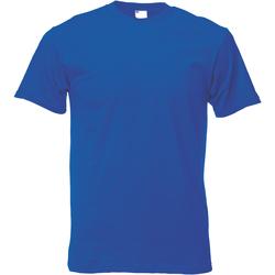 textil Herr T-shirts Universal Textiles 61082 Kobolt