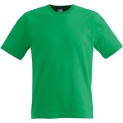 textil Herr T-shirts Universal Textiles 61082 Ljusgrön