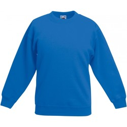 textil Barn Sweatshirts Fruit Of The Loom SS801 Kunglig blå