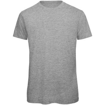 textil Herr T-shirts B And C TM042 Sport Grå