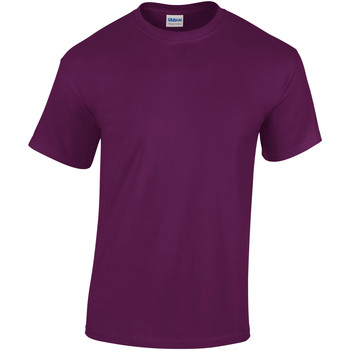 textil Barn T-shirts Gildan 5000B Lila