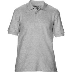 textil Herr Kortärmade pikétröjor Gildan Premium Sport Grey (RS)
