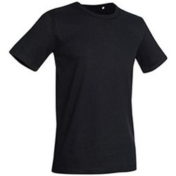 textil Herr T-shirts Stedman Stars Morgan Svart opal