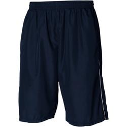 textil Herr Shorts / Bermudas Tombo Teamsport Longline Marinblått/vit