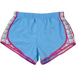 textil Dam Shorts / Bermudas Boxercraft Velocity Safir/rutiga