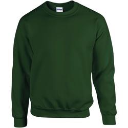 textil Barn Sweatshirts Gildan 18000B Skogsgrön