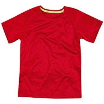 textil Barn T-shirts Stedman  Crimson Red