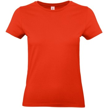 textil Dam T-shirts B And C E190 Eldröd