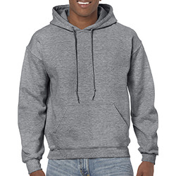 textil Sweatshirts Gildan 18500 Grafit Heather