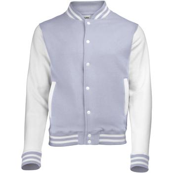 textil Herr Vindjackor Awdis JH043 Grått / vitt