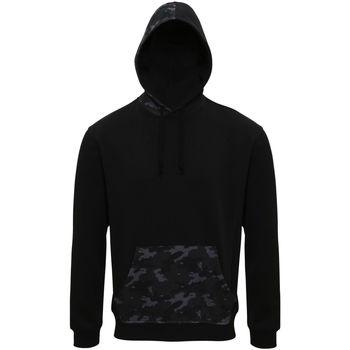 textil Herr Sweatshirts Asquith & Fox AQ047 Svart/grå kamouflage