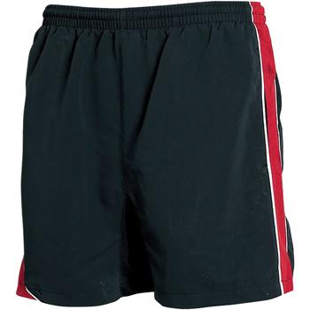 textil Herr Shorts / Bermudas Tombo Teamsport TL081 Svart/röd/vit kantstickning