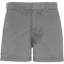 textil Dam Shorts / Bermudas Asquith & Fox AQ061 Skiffer