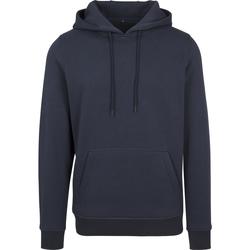 textil Herr Sweatshirts Build Your Brand BY011 Marinblått