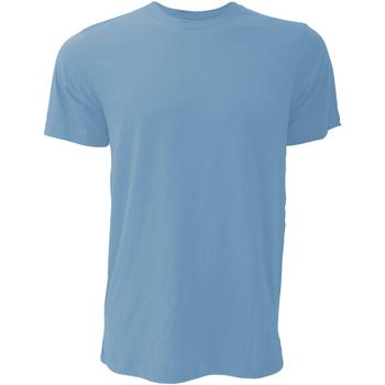 textil Herr T-shirts Bella + Canvas CA3001 Heather Columbia Blue