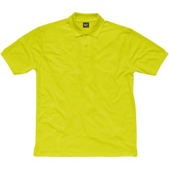 textil Barn Kortärmade pikétröjor Sg SG50K Lime