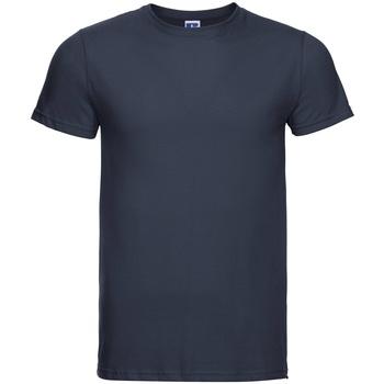 textil Herr T-shirts Russell R155M Franska flottan