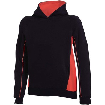 textil Barn Sweatshirts Finden & Hales LV339 Svart/röd