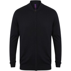 textil Koftor / Cardigans / Västar Henbury HB718 Marinblått