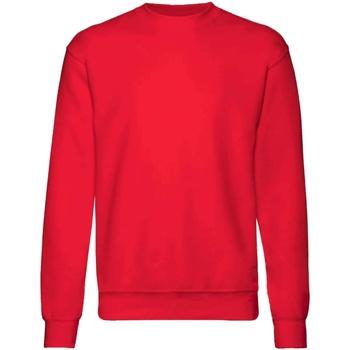 textil Barn Sweatshirts Fruit Of The Loom  Röd