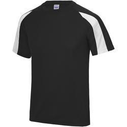 textil Herr T-shirts Just Cool JC003 Jet Black/Arctic White