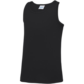 textil Barn Linnen / Ärmlösa T-shirts Awdis JC07J Jet Black