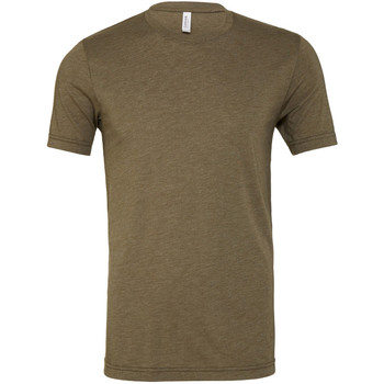 textil Herr T-shirts Bella + Canvas CA3413 Oliv triblend